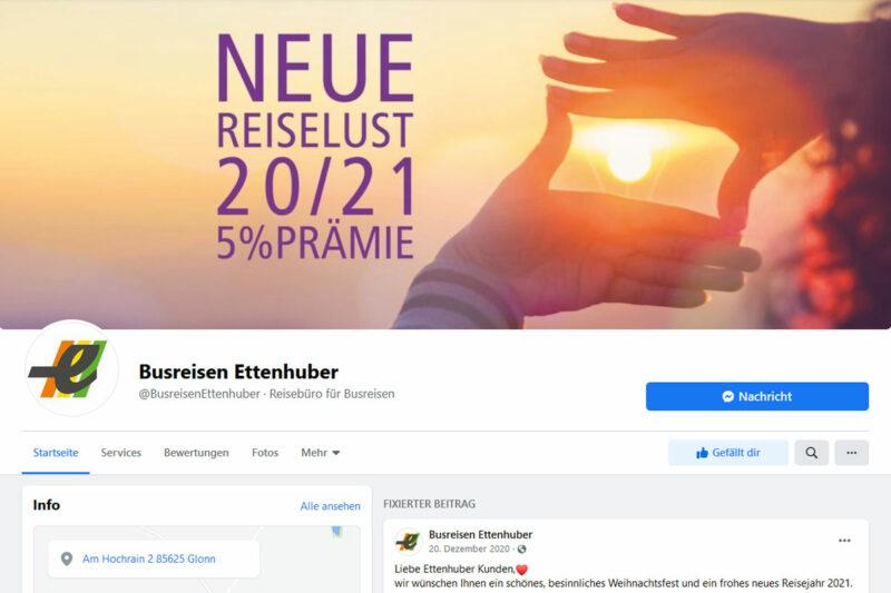 Busreisen Ettenhuber facebook