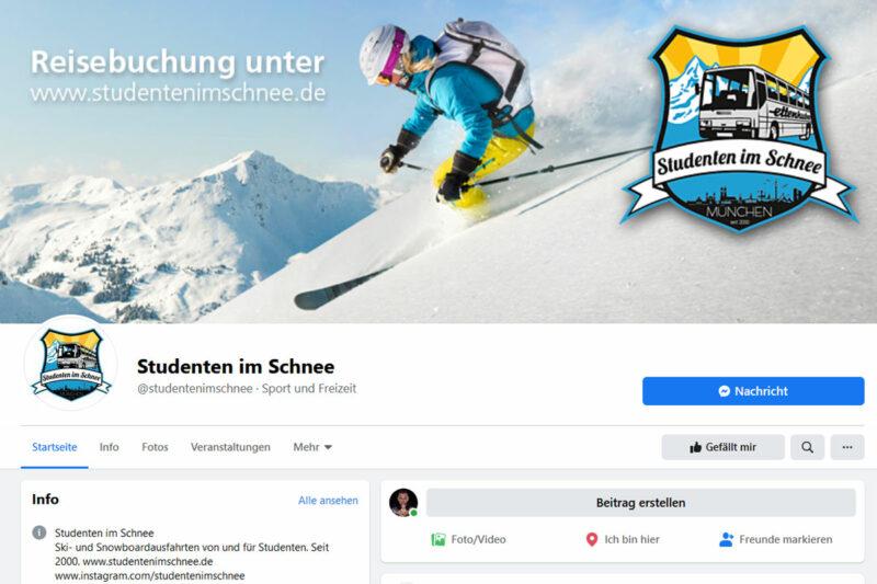 Studenten im Schnee facebook